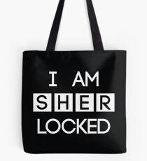 Bolsa de tela Sherlocked