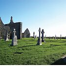 Clonmacnoise - on the Shannon River by Shannon Kennedy