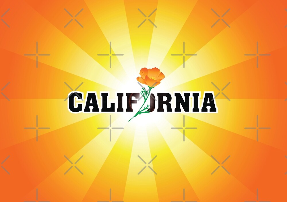 California the Golden State by Localist