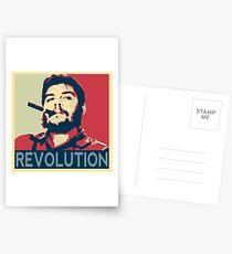 Che Geuvara Revolution Postcards