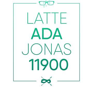 Latte, Ada, Jonas, 11900 by OlicityUniverse