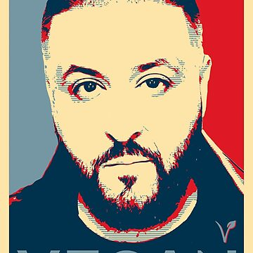 DJ Khaled - Vegan by inkDrop