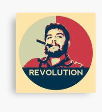 Che Guevara Hope Poster Canvas Print
