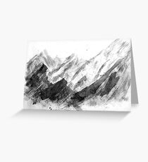 Raw, Rugged Nature Greeting Card