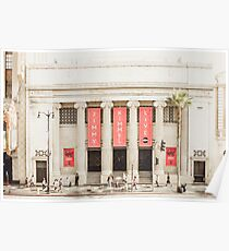 Jimmy Kimmel LIVE Studio Downtown Hollywood, California Poster