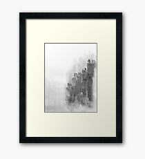 Tranquil Mountains Framed Print