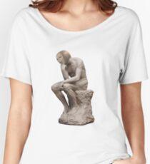 Surreal Thinker Meme Man  Women's Relaxed Fit T-Shirt