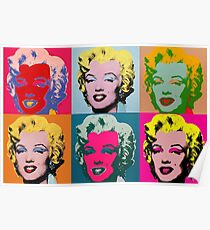 Andy Warhol Marilyn Monroe Poster