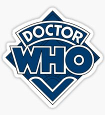 Doctor Who Classic Logo Sticker