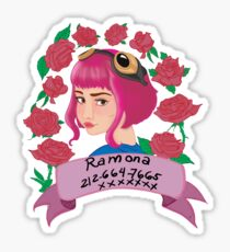 Ramona Flowers Sticker