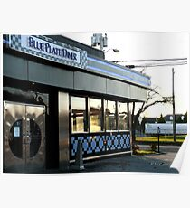 Autumn in Rhode Island | Blue Plate Diner Poster