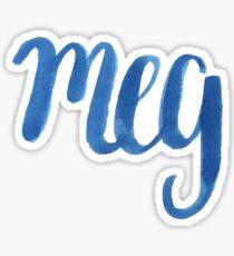 Meg Sticker