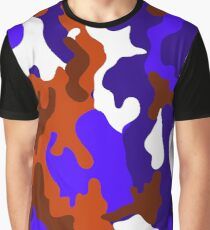 Camo Camouflage 4 - Abstract Colour Color Pattern Graphic T-Shirt