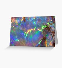 Holographic Opal Greeting Card