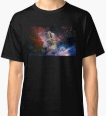 Surreal Thinker Meme Man In Space  Classic T-Shirt