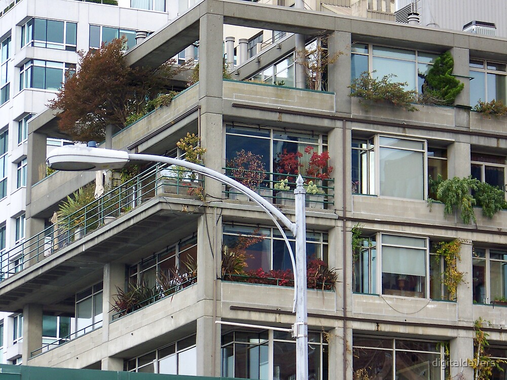 Urban Gardening by digitaldavers