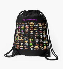 "Monkey Island ""My inventory"" bag Drawstring Bag"