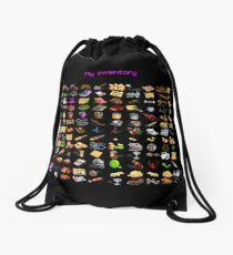 "Monkey Island ""My inventory"" bag Drawstring Bag"