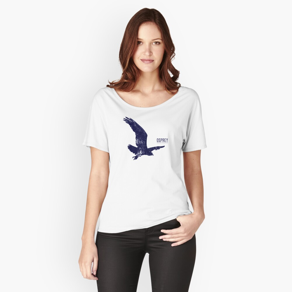 Osprey Taking Flight Women's Relaxed Fit T-Shirt Front