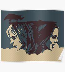 Buffy & Faith Poster
