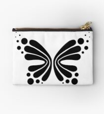 Graphic Butterfly B&W - Shee Vector Shape Studio Pouch