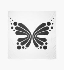Graphic Butterfly B&W - Shee Vector Shape Scarf