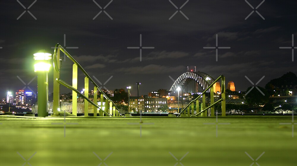 Looking Out From Jones Bay Wharf by OTBphotography