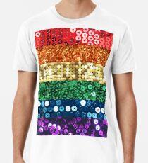 sequin pride flag Men's Premium T-Shirt