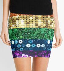 sequin pride flag Mini Skirt