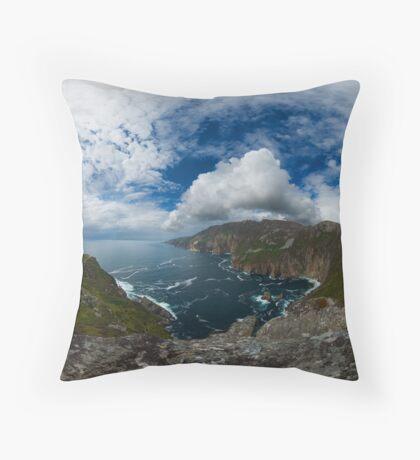 Bunglas - Highest Sea Cliffs in Europe? Throw Pillow