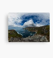 Bunglas - Highest Sea Cliffs in Europe? Canvas Print