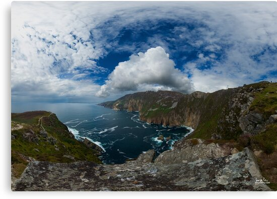 Bunglas - Highest Sea Cliffs in Europe? by George Row