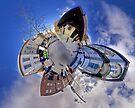 Shipquay Street Panorama - Spring 2014 by George Row