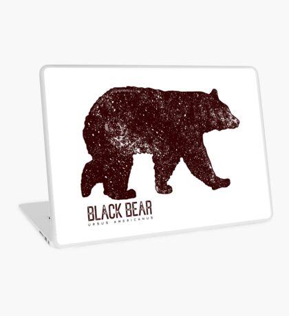 Black Bear Walking Laptop Skin