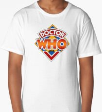 Doctor who Classic Logo 1 Long T-Shirt