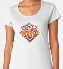 Doctor who Classic Logo 1 Women's Premium T-Shirt