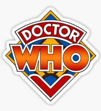 Doctor who Classic Logo 1 Sticker