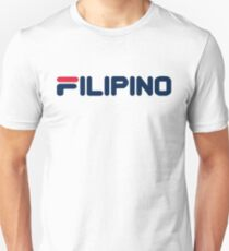 FILIPINO sportliche Marke Slim Fit T-Shirt