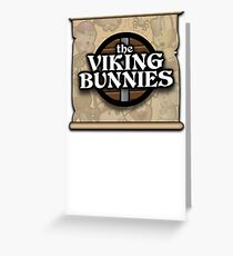 The Viking Bunnies Logo Greeting Card