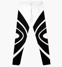 Graphic Butterfly B&W - Shee Vector Shape Leggings