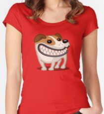 Jack Russell Terrier tshirt - Dog Gifts for Jack Russell and Terrier Dog Lovers Women's Fitted Scoop T-Shirt