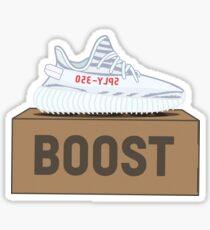 Yeezy Boost 350 V2 | Blaue Tönungsbox Sticker