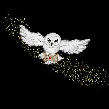 Owl Flight by ShenaLeonard
