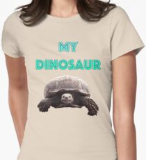 My Dinosaur Women's Fitted T-Shirt