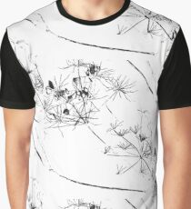 Vintage Flowers Day Graphic T-Shirt