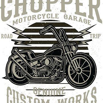 West Coast Chopper T-Shirt by webeller