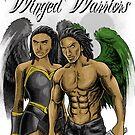 Winged Warriors Fantasy Angels by NDJones