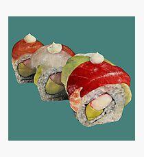 Rainbow Sushi Photographic Print