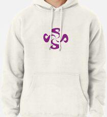 SheeArtworks Spiral Purple - Shee Vector Pattern Pullover Hoodie