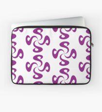 SheeArtworks Spiral Purple - Shee Vector Pattern Laptop Sleeve